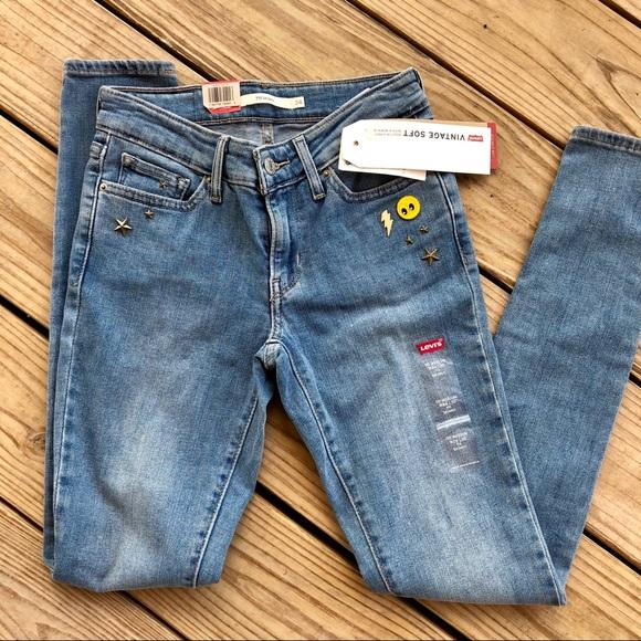 35cfb574 Levi's Jeans | Levis Vintage Soft Denim 711 Skinny | Poshmark